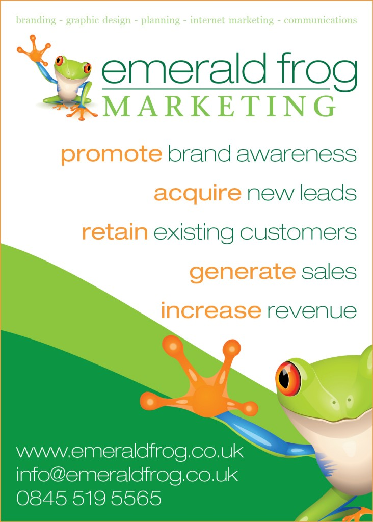 The beginner 39 s guide to advertising emerald frog marketing for Advertising companies uk