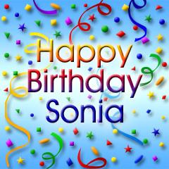 sonia birthday